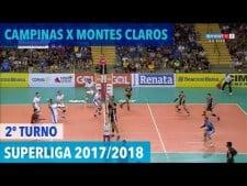 Renata/Campinas - Montes Claros Vôlei (full match)