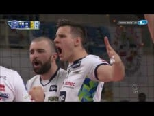 Trentino Volley amazing triple block