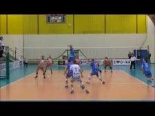 Kajetan Kulik in match Energa Ostrołęka - MOS Wola Warsaw