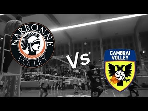 Narbonne Volley - Cambrai Volley (Highlights)