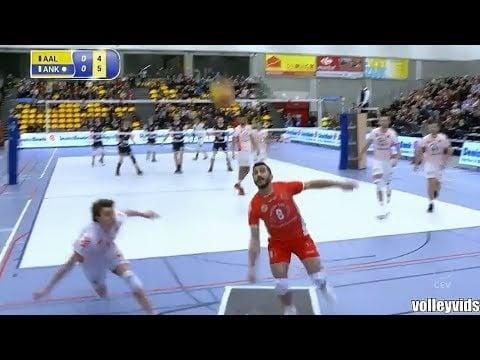 Volkan Döne great defence (Aalst - Ankara)