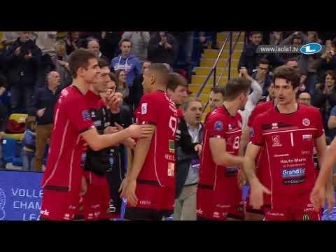 Chaumont Volley-Ball 52 - Skra Bełchatów (last point)