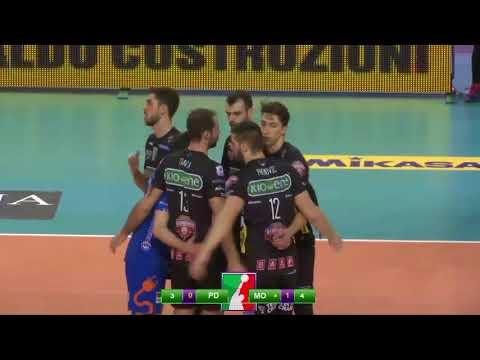 Kioene Padova - Azimut Modena (Highlights)