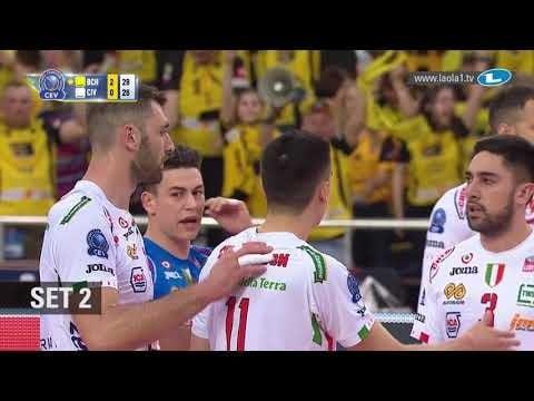 Skra Bełchatów - Lube Banca Macerata (Highlights)
