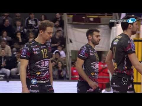 Simone Anzani quick spike (Perugia - Ankara)