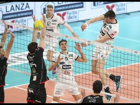 Trentino Volley - Chaumont VB (Highlights)
