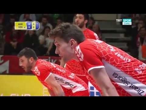 Ziraat Bankasi Ankara - Calzedonia Verona (full match)