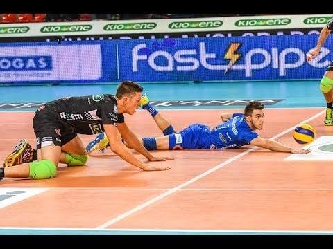 Fabio Balaso 4 digs in match Padova - Ravenna
