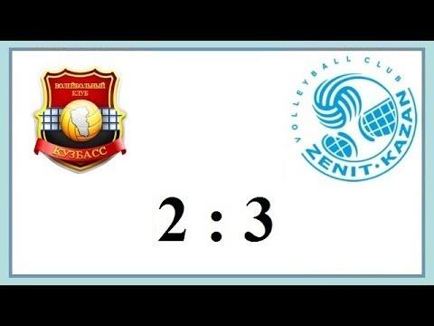 Kuzbass Kemerovo - Zenit Kazan (Highlights)