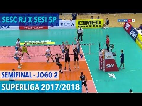 Sesc/Rio de Janeiro - Sesi São Paulo (full match)