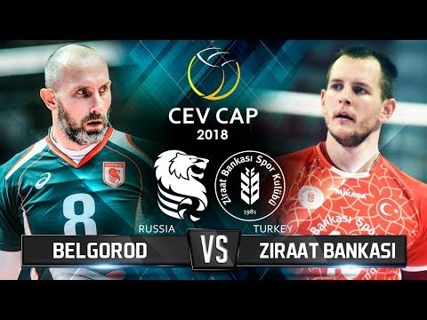 Ziraat Bankasi Ankara - Belogorie Belgorod (Highlights)