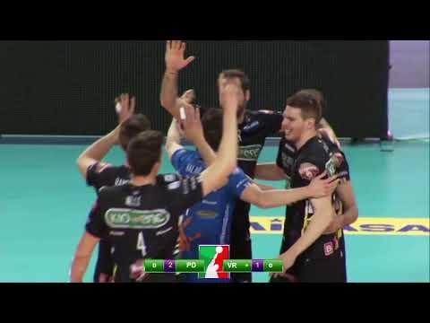 Kioene Padova - Calzedonia Verona (Highlights)