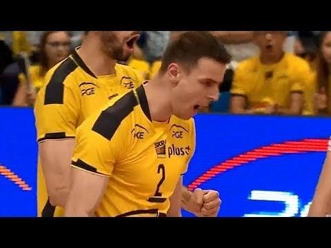 Mariusz Wlazły 3 aces in a row (Bełchatów - Kędzierzyn)