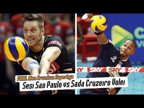 Sesi São Paulo - Sada Cruzeiro Vôlei (Highlights)