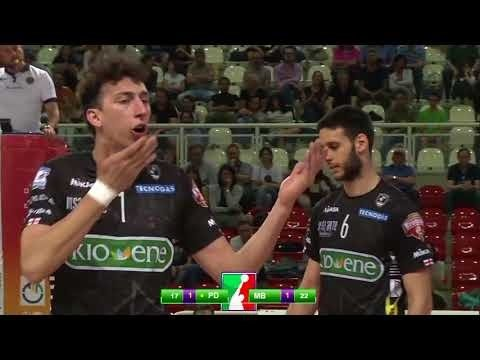Kioene Padova - Gi Group Monza (Highlights)
