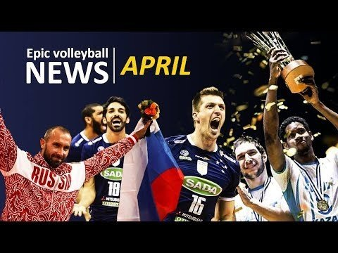 Volleyball news for April 2018