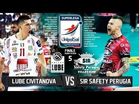 Sir Safety Perugia - Lube Banca Macerata (Highlights)