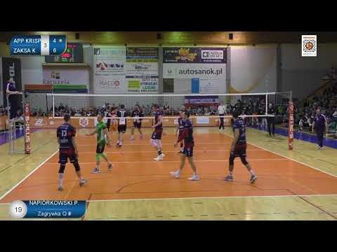 Patryk Napiórkowski in match Września - Kędzierzyn-Koźle