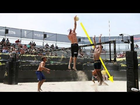 TOP 50 Poweful Beach Volleyball Spikes