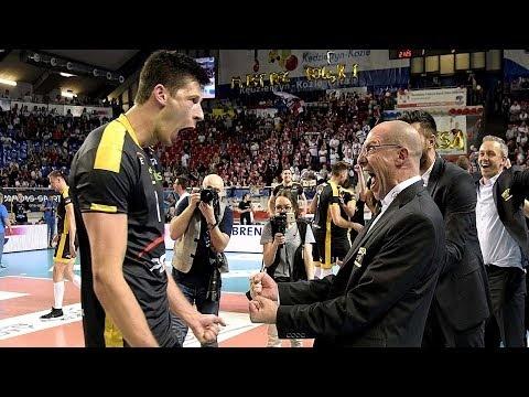 Srecko Lisinać last game in Skra Bełchatów