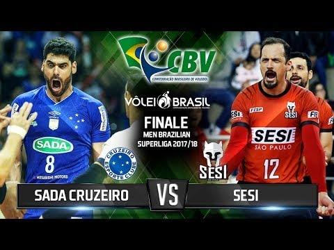 Sada Cruzeiro Vôlei - Sesi São Paulo (Highlights)