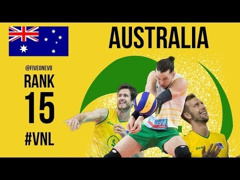 Australia Volleyball Nations League 2018 preview