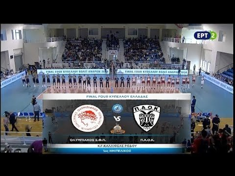 Olympiacos Piraeus - P.A.O.K. Thessaloniki (full match)
