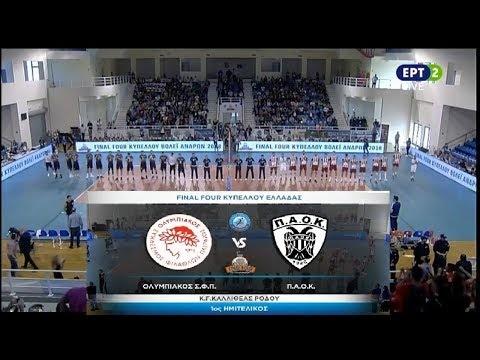 Olympiacos Piraeus - P.A.O.K. Thessaloniki (full match)