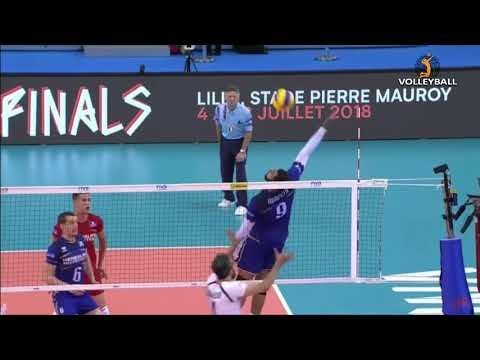 Earvin N'Gapeth nice point (France - Iran)