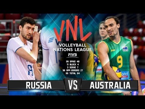 Australia - Russia (Highlights)