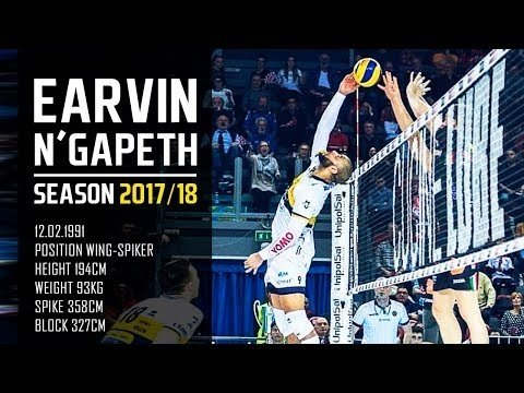 Earvin N'Gapeth in season 2017/18