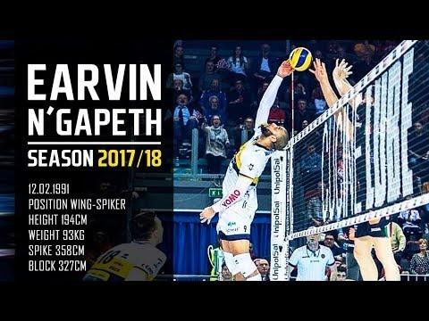 Earvin N'Gapeth in season 2017/18