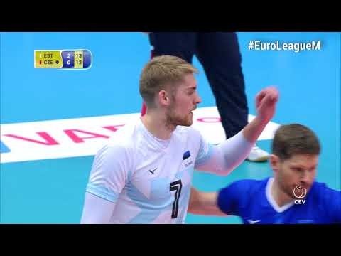 Renee Teppan in EuroVolley 2018