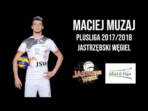 Maciej Muzaj in Plusliga 2017/18