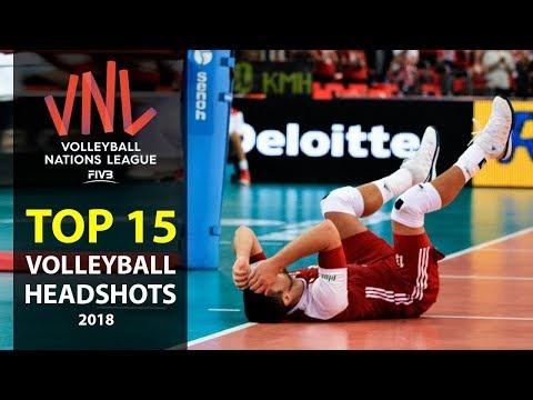 TOP » 15 Volleyball Headshots 2018 (HD)