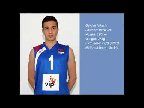 Ognjen Niketić in season 2017/18