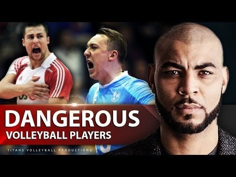 TOP 10 Dangerous Volleyball Players