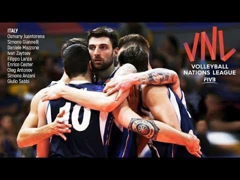 Italy in Volleyball Nations League 2018