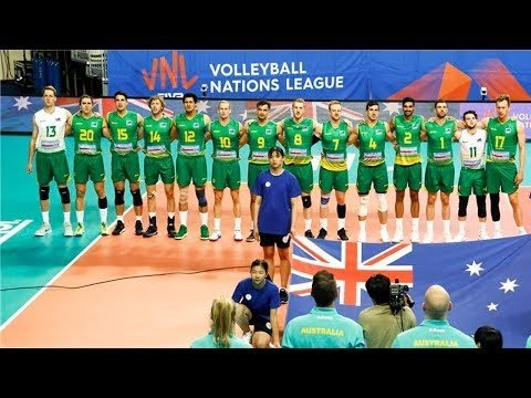 Australia in Volleyball Nations League 2018