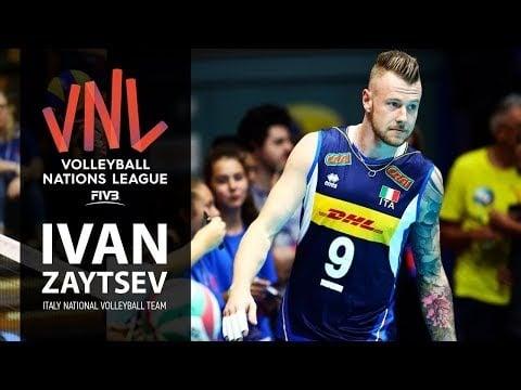 Ivan Zaytsev in VNL 2018