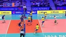 Wallace De Souza great spike (France - Brazil)