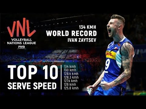Huge serves in VNL 2018