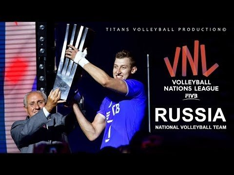 Russia in VNL 2018 (Highlights)