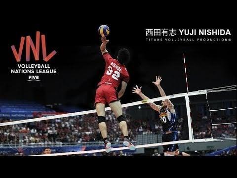 Yuji Nishida in VNL 2018