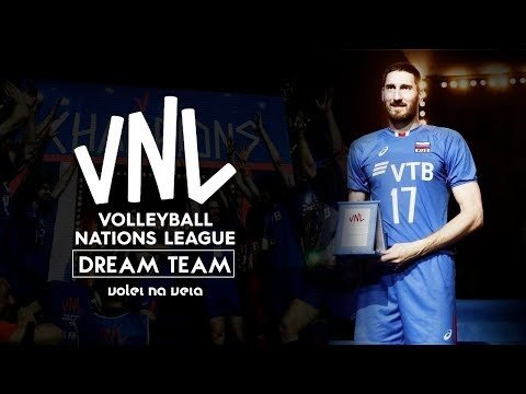 Dream Team of Volleyball Nations League 2018