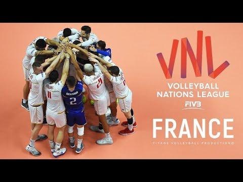 France in VNL 2018