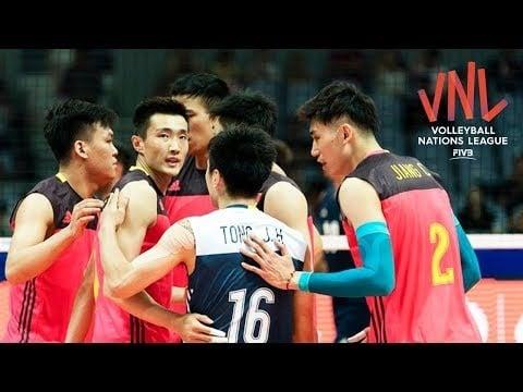 China in VNL 2018