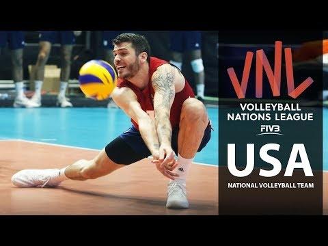 USA in VNL 2018