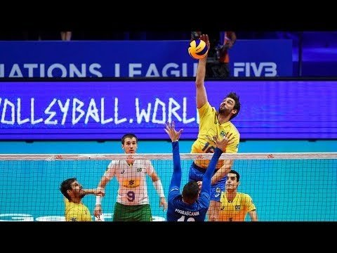 TOP10 Spikes in VNL 2018
