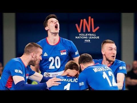 Serbia in VNL 2018